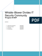 Whistle-Blower Divides IT Security