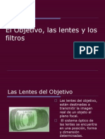 El Objetivo, Las Lentes y Los Filtros n%b01