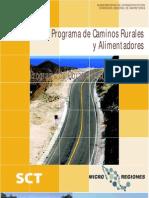 Clasificacion de Carreteras Segun SCT