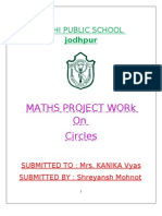 26023207 Maths Project for Class 10