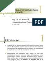 Patrones Arquitecturales Para Aplicaciones Web