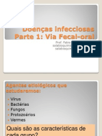 Doencas Infecciosas Parte 1 via Fecal Oral