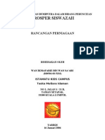 Format Rancangan Perniagaan Taska