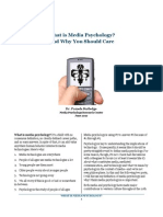 What is Media Psychology
