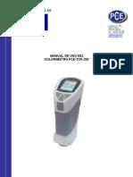 Manual PCE TCR 200