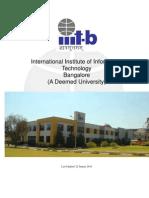 Iiitb Brochure 2010
