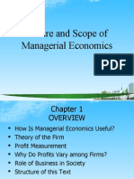 Nature and Scope of Managerial Economics PPT @ MBA 2009