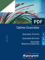 Cables Coaxiales Manual