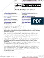 How to Build Your Own CCNA Cisco Router Home Lab