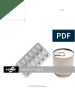 Wp-FDA 21 CFR Part 11-Overview