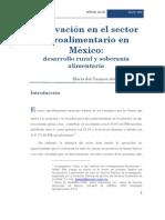 Innovacion en El Sector Agroalimentario en Mexico[1]