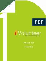 About iVolunteer 2012