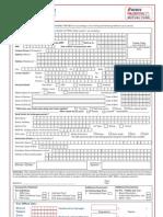 ICICI Empanelment Form