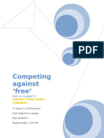 Competing against 'free' by S Dalla Pria