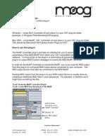 MuRF VST Controller Instructions