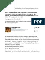 Geweld Syrie Interesseert Twitterende Kamerleden Weinig4