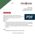 Anular paso en Armentia (08/2012)