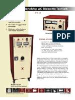 Testequimentshop.com AC Dielectric Test Equipment 3 15kV AC Hipots TES 605 2P Data Sheet