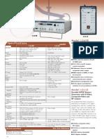 Test Equiment Shop.com Vido Cable Color NTSC Generator TES1249B Data Sheet