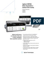 Testequipmentshop.com Agilent Data-Acquisition TES-34970A Datasheet