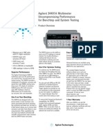 Testequipmentshop.com Agilent Digital-Multimeters TES-34401A Datasheet