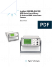 Testequipmentshop.com Agilent Power-Sensors TES-E9304A Datasheet
