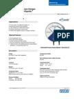 Testequipmentshop.com Air2Guide Differential Pressure Gauge Air2guide P TES A2G 10 Data Sheet