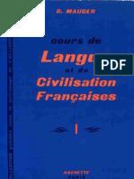 Cours De Langue et De Civilisation Française 1