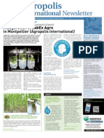 Agropolis International Newsletter 12 December 2011