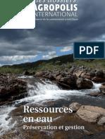 Ressources en eau - Préservation et gestion - Les dossiers d'Agropolis International
