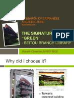The Signature of Green_Karolin