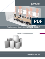 Handbook Displacement Ventilation Design Guide Booklet by PRICE