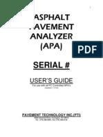 A Pa Manual