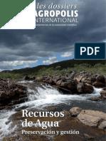 Recursos de Agua Preservacion y Gestion - Les Dossiers d'Agropolis International