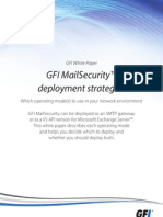 GFI MailSecurity's Deployment Strategies