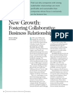 Fostering Collaborative Business Relationship
