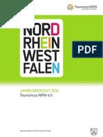 Jahresbericht 2011, Tourismus NRW e.V.