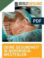 Gesundbroschüre, Tourismus NRW e.V.