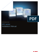 1MRK514014-UEN en Installation Manual 650 Series IEC