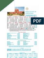 High Court Calendar