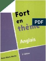 Fort en Theme Anglais