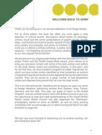 ADIBF 2012 - Cultural Programme Brochure (EN)