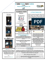 Newsletter 3-16-2012