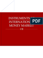 Instruments of International Money Market