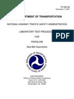 Fmvss 209 Seat Belts Tp-209-08