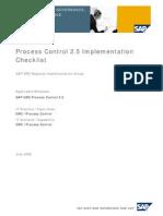 Grc Implementation Check List