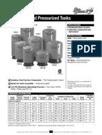 Especificaciones Tanques hidroneumaticos