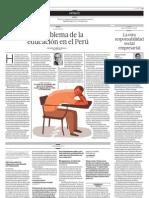 El problema de la educación en el Perú