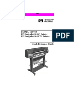 HP DJ Quick Reference