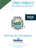 Edital Prefeitura Municipal de Ibotirama